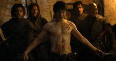 """Game of Thrones 4.6 """"The Laws of Gods and Men"""" Ramsay Bolton is uncomfortably hot."""
