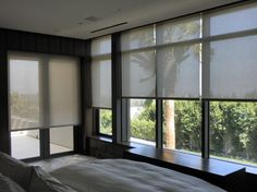 Roller Shades - Roller Shades, Blackout Shades, Black Out Shades, contemporary roller blinds, blinds orange county, blinds shutters