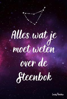 Sterrenbeeld Steenbok | Alles wat jij moet weten over jouw sterrenbeeld!