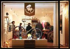 de - individual singlespeed & fixie bikes by dieTaikonauten , via Behance / clever. Bike Birthday Parties, Dirt Bike Birthday, Bmx Bike Parts, Urban Bike, Cycle Chic, Fixed Bike, Bike Store, Bike Wheel, Bike Rack