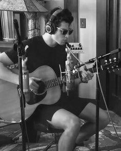 Yasss...I love how he's wearing sunglasses inside a building lol