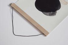 DIY: Plakatramme af rørepinde