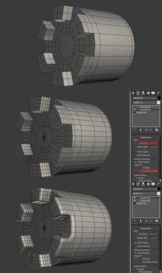 FAQ: How u model dem shapes? Hands-on mini-tuts for mechanical sub-d AKA ADD MORE GEO - Page 184 - Polycount Forum