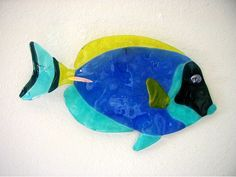Fused+Glass+Funky+Artist | Liquid Glass Tangs & Surgeonfish