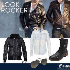 Un #look muy #rockero para él sólo en #Dafiti