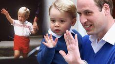 Prinz William und Prinz George: Wie der Vater, so der Sohn http://www.bild.de/unterhaltung/royals/prinz-william/und-baby-george-wie-der-vater-so-der-
