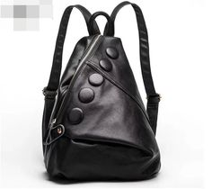 2017 first layer cowhide leather female backpack genuine leather women  all-match. Item Type: BackpacksBackpacks Type: SoftbackBrand Name: HDCarrying System: CRExterior: Silt PocketRain Cover: NoHandle/Strap Type: Soft HandleClosure Type: ZipperDecoration: NoneGender: WomenPattern Type: SolidStyle: FashionLining Material: PolyesterMain Material: Genuine LeatherCapacity: 20-35 LitreGenuine Leather Type: Cow Leatherentresol disirous: nonewhether folding: q17bag inner structure: credential…