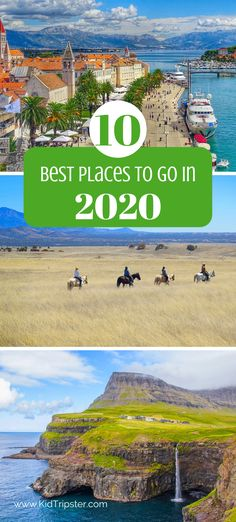 Top 10 destinations for families to visit in 2020 Dude Ranch Vacations, Vacation Trips, Caribbean Vacations, Beach Vacations, Travel With Kids, Family Travel, Kids Usa, Small Town America, Captiva Island