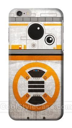 BB-8 Rolling Droid Minimalist Phone Case for Iphone 6