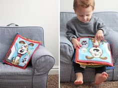 Wuka Fabric Book {Products we Love} | SweetLittlePeanut.com  #wuka  http://sweetlittlepeanut.com/products-we-love/wuka-quiet-book-products-we-love/