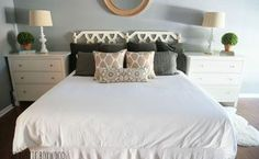 diy thrifted headboard using chalk paint, chalk paint, diy, painting, repurposing upcycling