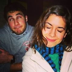 merediddys: #tbt to my fav profile pic ever, back when @darrencriss and I were tiny little sophomores in college. Bout to see this goofball in #hedwigonbroadway and I'm so proud of him and all his achievements :) I love you buddy!! Keep shining!!!! See u so soon!!