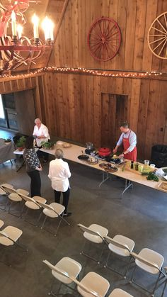 We were fortunate to have a cooking demonstration by Chef Cody Hogan of Lidia's! Wedding Events, Weddings, Past, Cooking, Inspiration, Kitchen, Biblical Inspiration, Past Tense, Wedding