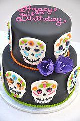 Skull Cake .. Maybe I will make this for myself this year