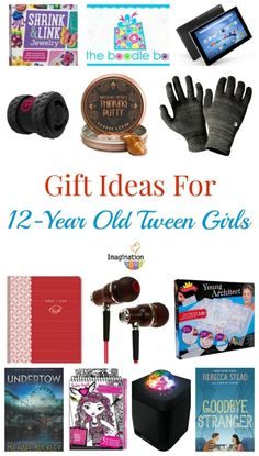 What gifts for 12 year old girl are the best? Here's a list of books, games, tech and more. AWESOME!