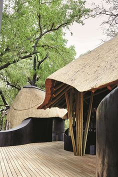Want to know more about the best Botswana safari holidays? These are the six best safari lodges in Botswana, the undisputed king of the African safari Thatched House, Thatched Roof, Bamboo House Design, Safari Holidays, Lodge Style, Lodge Decor, Tropical Houses, Lodges, Okavango Delta