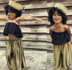 Natural Hair Queen, Black Beauty, Black Girl, Natural Hair Style, Dark Skin Make Up, Little Girl, Baby Girl