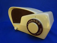 "RARE 1949 Philco Transitone 49-501 ""Boomerang"" Atomic Retro Era Radio"