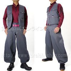 Toraichi 2530-661 Spencer vest 2530-448 Slim cho-cho long pants