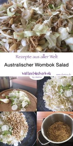 Wombok Salad – no BBQ without this Australian salad Dieser Salat darf auf keiner Grillparty fehlen! Low Carb Recipes, Vegetarian Recipes, Healthy Recipes, Grill Recipes, Barbecue, Party Salads, Spareribs, Grill Party, Bbq Party