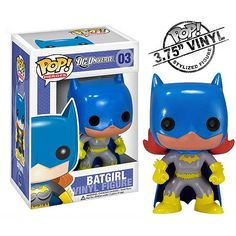 Batman Batgirl Pop! Heroes Vinyl Figure