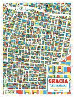 For the first time I have illustrated a map.This map has been commissioned by the fabulous map company Walk With Me on their new set of maps this time of the city of Barcelona.I was very fortunate to illustrate the most beautiful neighbourhood of Barcel…