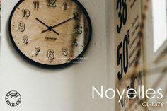 Noyelles [ ノイエル ]■ 電波時計 | 壁掛け時計 【 インターフォルム 】:INTERFORM