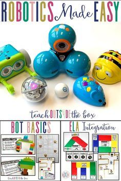Simple, developmentally appropriate starting points for Robotics and coding for early childhood stud Dash And Dot Robots, Dash Robot, Stem Robotics, Robotics Engineering, Robotics Club, Coding For Kids, Stem Learning, Stem Challenges, Stem Projects