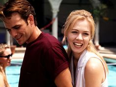 Luke and Jennie on Beverly Hills 90210