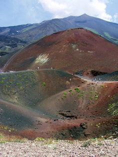 If hiking Europe's tallest active volcano sounds like somewhat of an adventure, Sicily is the place to do it! Click pin through to post for more info. Visit Sicily, Hiking Europe, Active Volcano, Sicily Italy, Exotic Places, Adventure Awaits, Travel Photos, Travel Pictures, Camping Hacks
