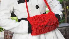 the dream crochet blog.: DIY: Crochet Bow Hand Muffs