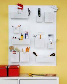 Organizar las herramientas