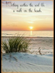 sunset plage The cool, softness of the sand can almost be felt in this sunset photo at the beach. Ocean Quotes, Beach Quotes, Beach Sayings, Beach Walk, Ocean Beach, Ocean Waves, Summer Beach, Nature Beach, Photo Images