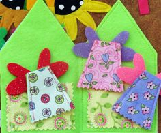 Felt Fairy Forest Play Mat .PDF PATTERN by LindyJDesign on Etsy