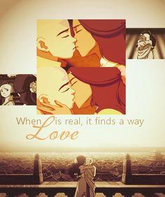Aang and Katara ~ ♥ - avatar-the-last-airbender Photo
