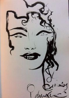 from $50.0 - Dave Mckean Death Sandman Gaiman Dc Vertigo Original Art Sketch