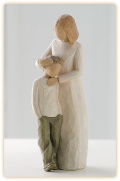 """Mother & Son"" by Willow Tree. https://www.facebook.com/riverroadpharmacyandgifts"