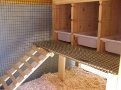Love this idea from Ikea.  Nesting boxes easily remove to clean simply and efficiently!  Gonna do this!