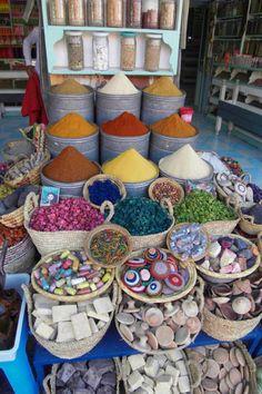 Mercado em Marrocos