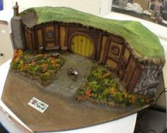 miniature hobbit hole by ~moather