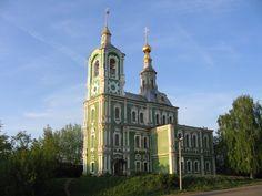 Nikitskaya Church (Никитская церковь) in Vladimir, Russia.