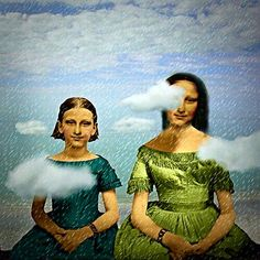 Mona Lisa - Two Sisters Maggie Taylor