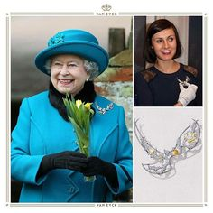 vaneyckjewelryIn honor to her 90th #birthday we look back to the day on which #queenelizabeth wore The Eternal Dove brooch created by @ivonna_poplanska the Van Eyck Fine Jewelry designer! #flashbackfriday #vaneyckjewelry #queen #happybirthday #eternaldove #royal #diamond #brooch #finejewelry #highjewelry #royaljewels #whitediamonds #diamonds #giacertified #windiam #antwerpen #antwerp #dubai