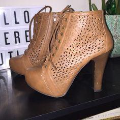 Charlotte Russe Shoes - Charlotte Russe Platform Booties