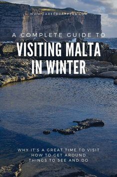 Visiting Malta in winter: a complete guide [updated 2019 Visiting Malta in winter is great for exploring the island nation, with a mild climate and fewer tourists around. This guide explains all you n Travel Tours, Travel Europe, Budget Travel, Travel Ideas, Travel Destinations, Malta Travel Guide, Malta Beaches, Beach Trip, Beach Travel