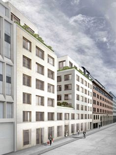Palais Varnhagen Straßenansicht, © David Chipperfield Architects / Artprojekt