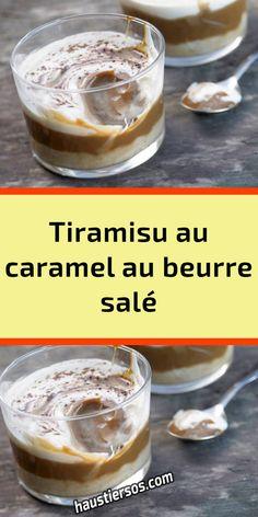 Tiramisu Caramel, Mousse, Panna Cotta, Dessert Recipes, Pudding, Cooking, Kitchen, Stuff Stuff, Thermomix