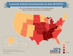 50% of all antibiotics prescribed in US health provider offices are either unnecessary or inappropriate. Learn when antibiotics do and don't work.