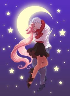 SM: Helios X ChibiUsa by Roots-Love.deviantart.com on @deviantART