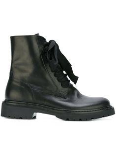 A.F.VANDEVORST Lace-Up Boots. #a.f.vandevorst #shoes #flats